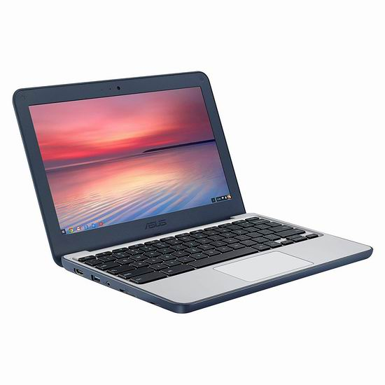 历史新低!Asus 华硕 C202SA-YS04 Chromebook 11.6英寸笔记本电脑 229加元包邮!