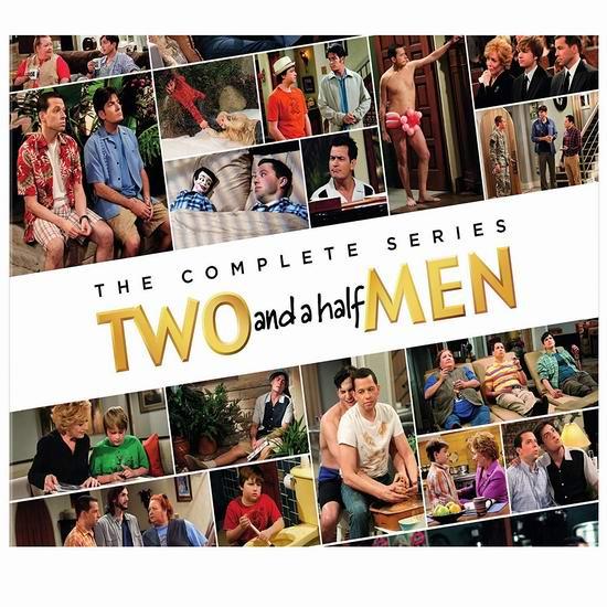 金盒头条:历史新低!情景喜剧《Two and a Half Men 好汉两个半》DVD全集3.5折 82.99加元包邮!
