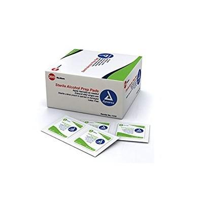 Dynarex 1113 70%酒精 无菌消毒棉片(200片) 14.67加元包邮!