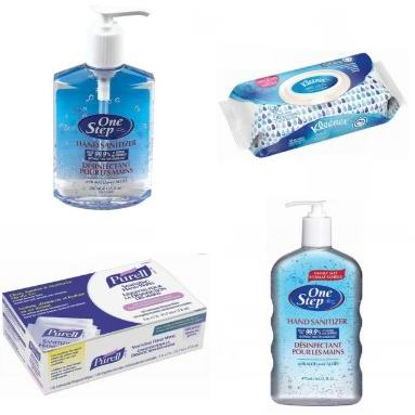 Staples精选多款消毒洗手液、消毒纸巾、消毒液等热卖中!