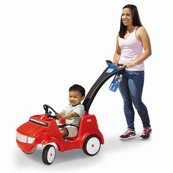 Little Tikes 小泰克 Quiet Drive 儿童玩具越野车 79.97加元包邮!
