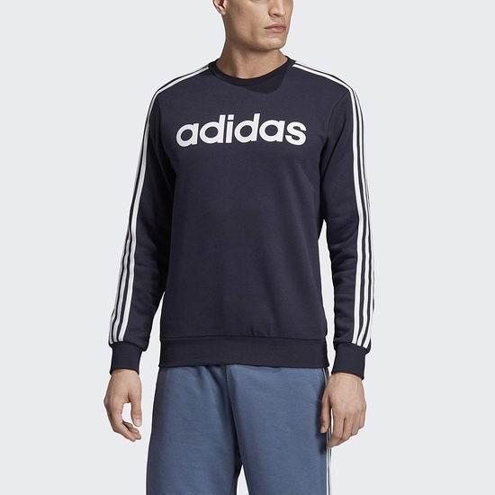 历史新低!Adidas Essentials 男式经典三条杠卫衣3折 21加元!