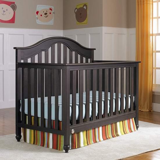 历史新低!Fisher Price 费雪 Lakeland 四合一成长型 实木婴儿床3.9折 188.97加元包邮!
