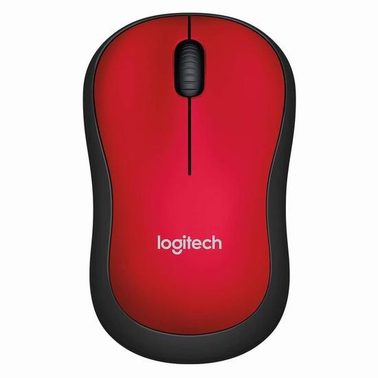 Logitech 罗技 M185 无线鼠标6折 17.99加元!