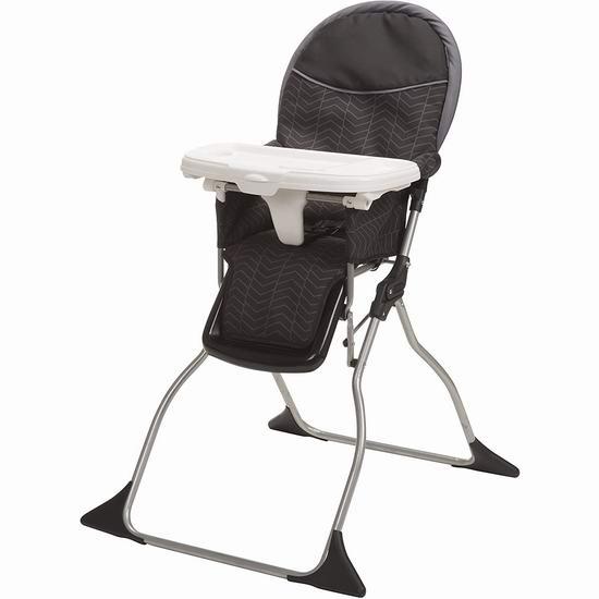 历史新低!Cosco 03016CDFL 可折叠儿童高脚餐椅5.7折 39.97加元包邮!