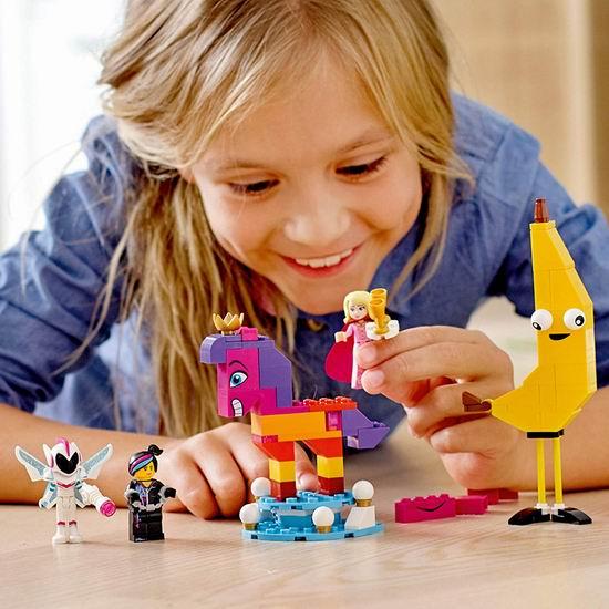 白菜价!历史新低!LEGO 乐高 70824 瓦特弗拉-瓦纳比女王的隆重介绍(115pcs)3.6折 9加元!