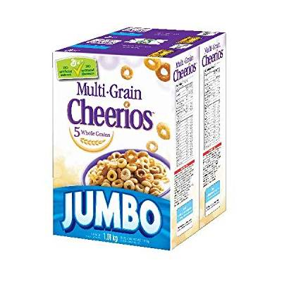 Cheerios 全天然五谷全麦麦圈1.01公斤超值装 6.45加元!