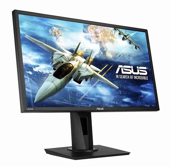 历史新低!ASUS 华硕 VG245H 24英寸 全高清游戏显示器 179.99加元包邮!