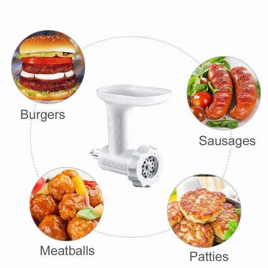 历史新低!ANTREE KitchenAid 厨师机专用 绞肉/灌肠通用配件 33.31加元!
