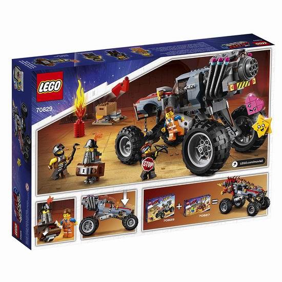 历史新低!LEGO 乐高 70829 艾米特和露西的逃生越野车(550pcs)4.9折 34加元!
