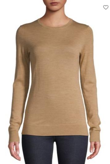 震撼好价!精选 Lord & Taylor 女式毛衣3.5折起清仓+额外7.5折!折后羊毛毛衣23加元、羊绒毛衣37.5加元!