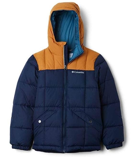 Columbia 哥伦比亚大童保暖服 5.5折 65.95加元(M码),原价 119.99加元,包邮