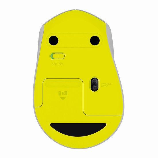 历史最低价!Logitech 罗技 M330 Silent Plus 无线静音鼠标5折 19.99加元!