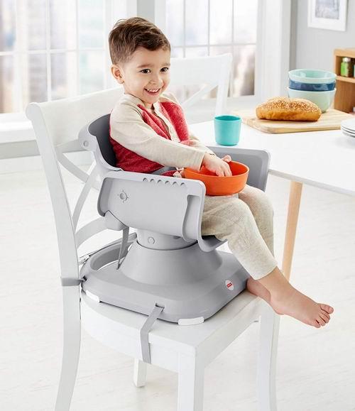 Fisher-Price 儿童餐椅 59.96加元(2色),原价 74.99加元,包邮
