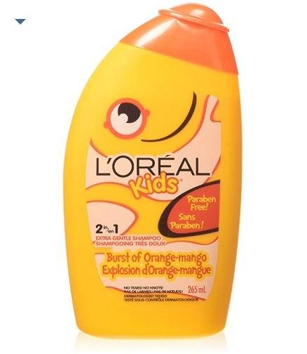 L'Oreal Paris 儿童二合一热带芒果洗发水 265毫升 3.5加元