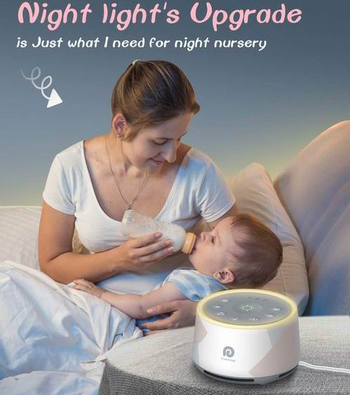 Dreamegg D1 Pro 白噪声睡眠仪/深度睡眠治疗音响机 49.99加元,原价 59.99加元,包邮