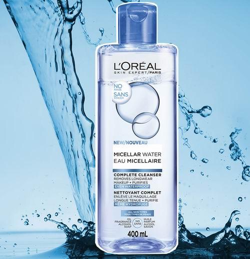 L'Oreal 欧莱雅 Micellar 三合一卸妆水 400毫升 5.22加元,原价 9.87加元