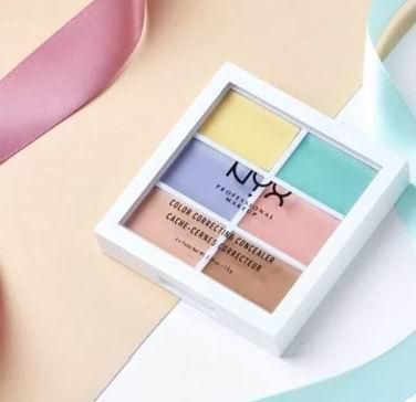 NYX Professional Makeup 6色修容遮瑕盘 10.33加元,原价 13.99加元