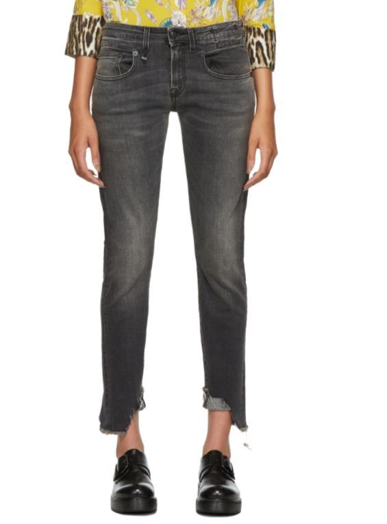 潮人明星都爱 R13破洞牛仔裤、衬衣、卫衣等服饰3.5折起