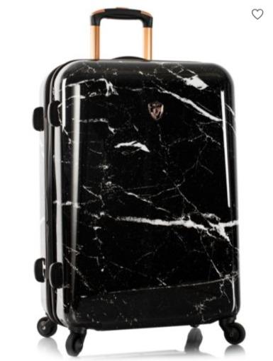 Heys Marquina 黑色大理石纹拉杆行李箱 26-30英寸 127.5-142.5加元,原价 425-475加元,包邮