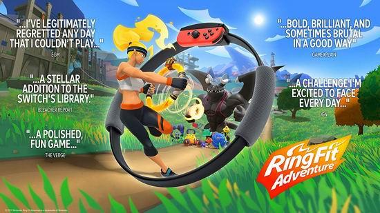 Nintendo Switch 《Ring Fit Adventure 健身大冒险》 99.99加元包邮!
