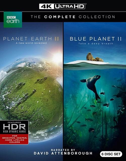 《蓝色星球2》+《地球脉动2》蓝光影碟合集 4.3折 31.99加元,原价 74.99加元