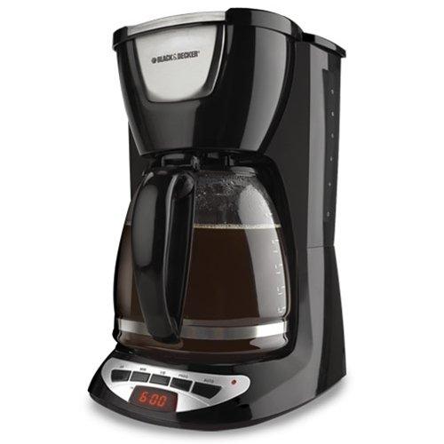 Black & Decker DCM100B 可编程咖啡机12杯 39.21加元,原价 54.55加元,包邮