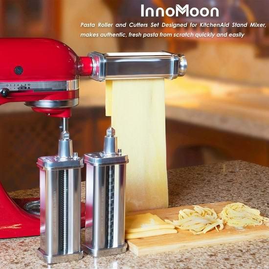 InnoMoon KitchenAid 厨师机专用 面条/压面切面器配件3件套 143.99加元包邮!