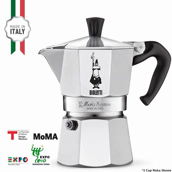Bialetti Moka 6杯量 摩卡咖啡壶 7.6折 34.97加元!