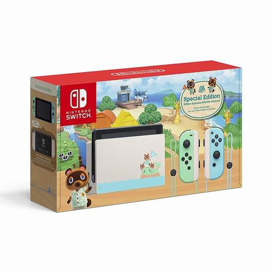 Nintendo 任天堂 《集合啦!动物森友会》限定版 Switch 便携式游戏机 399.96加元包邮!