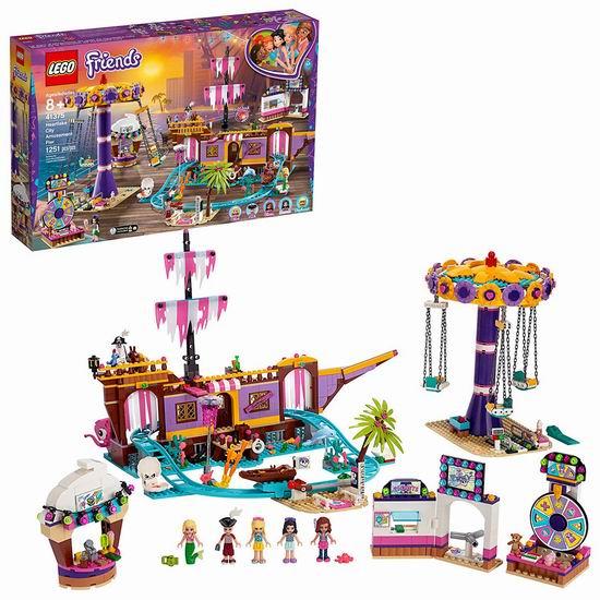 历史最低价!LEGO 乐高 41375 好朋友系列 心湖城豪华奇趣游乐场(1251pcs) 119.99加元包邮!