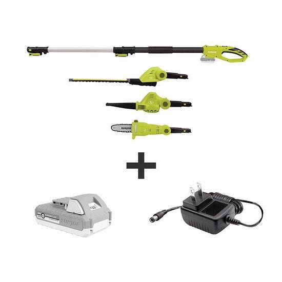 逆季清仓!Sun Joe GTS4001C 植物养护 24伏 无绳庭院电动工具3件套5折 99.5加元包邮!