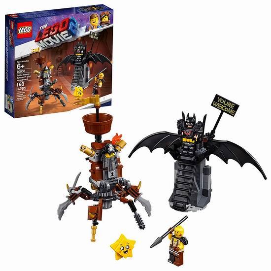 历史新低!LEGO 乐高 70836 全副武装的蝙蝠侠和胡须刚(168pcs)3.6折 9加元!