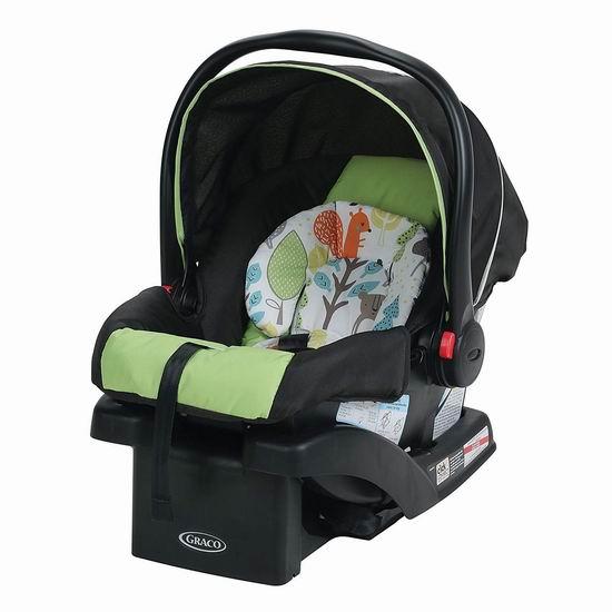 历史新低!Graco 葛莱 SnugRide 30 Click Connect 30 经典款 超轻婴儿汽车安全提篮6折 119.97加元包邮!