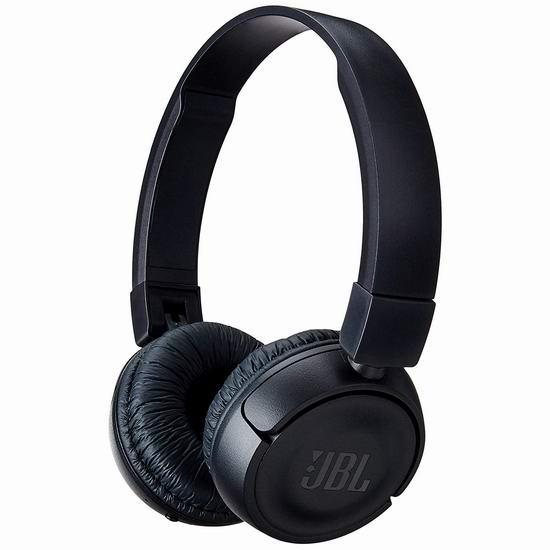 历史新低!JBL T450BT 蓝牙无线 头戴式耳机3.7折 29.99加元!