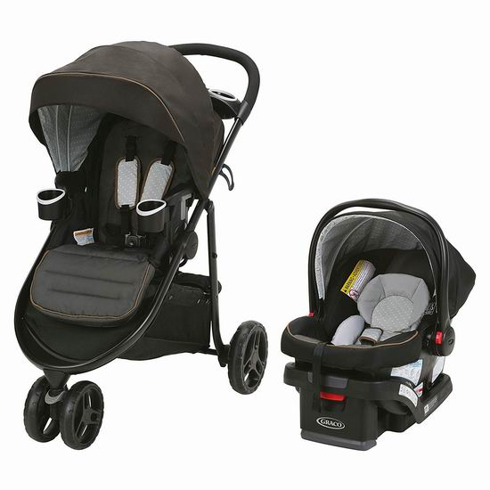 Graco Modes 3 Lite 豪华三合一 双向婴儿推车+婴儿提篮 299.99加元包邮!