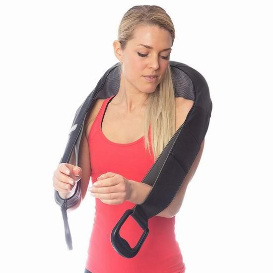 Body Back Vibe 红外加热 肩颈按摩披肩 49.95加元包邮!
