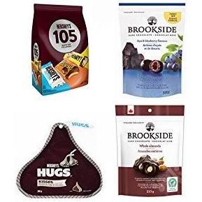 金盒头条:精选多款 Hershey's、Brookside 巧克力糖果7折起,低至3.48加元!