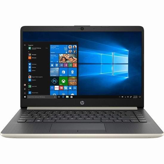 历史新低!HP 惠普 14-dk0020ca 14英寸轻薄笔记本电脑(4GB, 64GB ) 289.99加元包邮!
