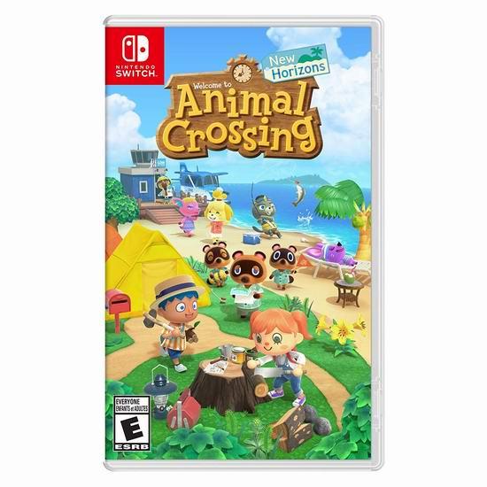 新品《Animal Crossing: New Horizons 集合啦!动物森友会》任天堂Switch版游戏 78.99加元包邮!