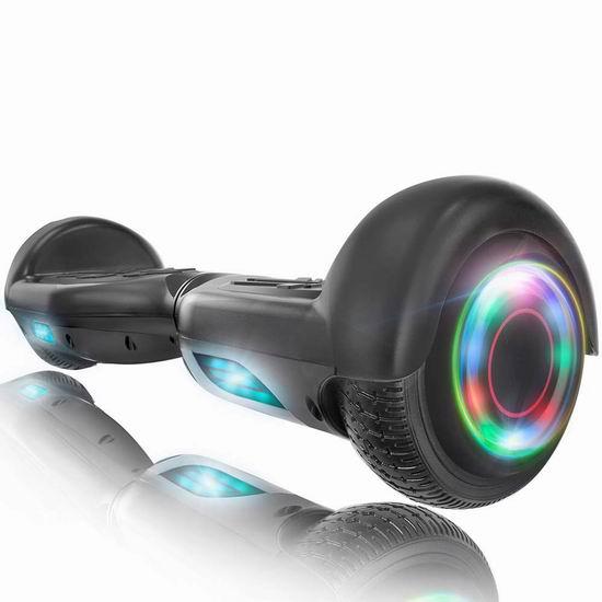 销量冠军!XPRIT 蓝牙智能体感平衡车 179.95加元包邮!