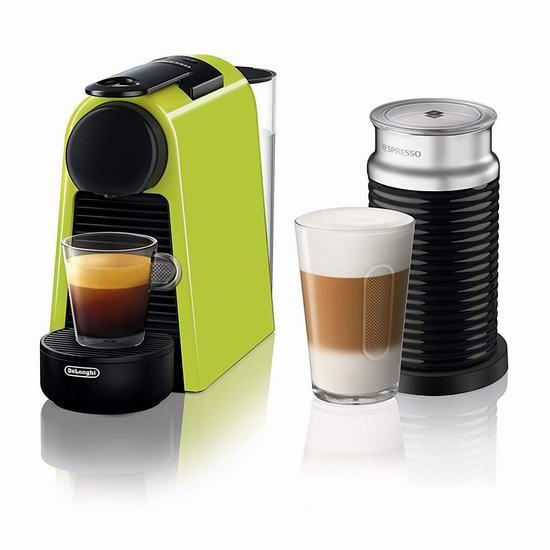 历史新低!Delonghi 德龙 NESPRESSO Essenza 迷你胶囊咖啡机+Aeroccino奶泡机 159.99加元包邮!
