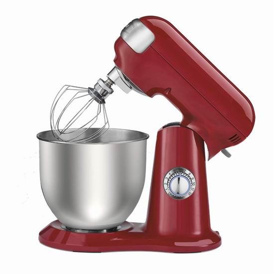 历史新低!Cuisinart 美膳雅 SM-48RC Precision 4.5夸脱 多功能搅拌机/厨师机5折 125加元包邮!