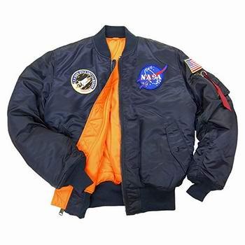 精选 Alpha Industries 潮款飞行员夹克4折起+额外9折!封面NASA MA-1经典款夹克107.94加元!