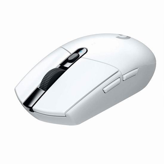 历史最低价!Logitech 罗技 G305 LIGHTSPEED 无线游戏鼠标 39.99加元包邮!2色可选!