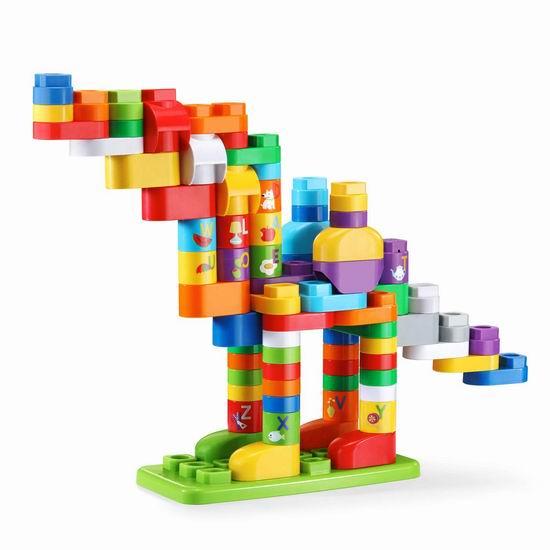 历史新低!LeapFrog LeapBuilders 数字字母 幼儿益智拼搭积木(81pcs)13.77加元!英法双语可选!