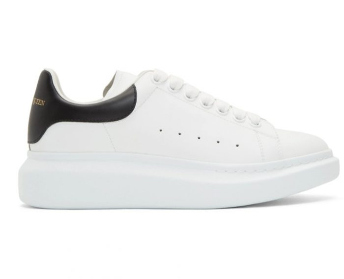 精选3款 Alexander McQueen 超级百搭 男士小白鞋442加元,原价 650加元,包邮