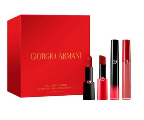 Giorgio Armani 阿玛尼口红限量版节日套装 101.5加元,原价 145加元(价值196加元),包邮