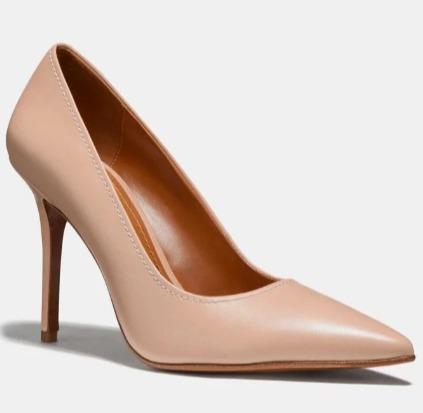 Coach Waverly 女士高跟鞋 67.5加元(2色),原价 225加元,包邮