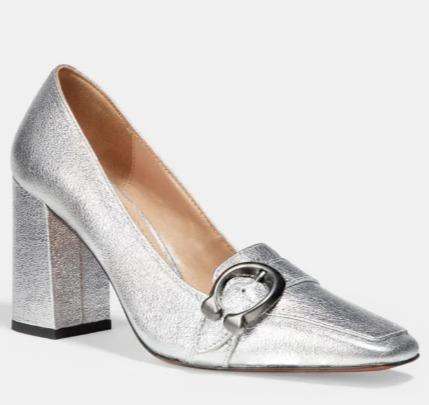 Coach Jade 女士粗跟乐福鞋 3折 88.5加元,原价 295加元,包邮
